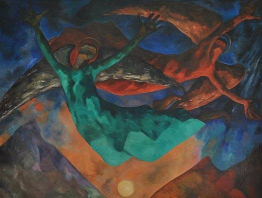 Las pinturas místicas de una artista mexicana olvidada por la historia 5