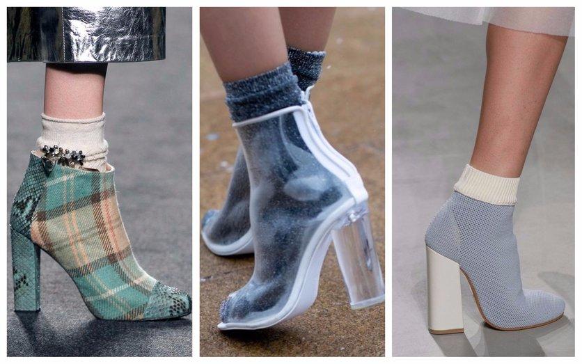 Formas de lucir tacones con calcetas y verte sofisticada 4