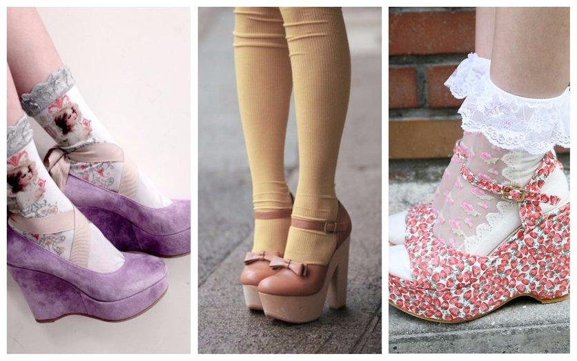 Formas de lucir tacones con calcetas y verte sofisticada 5