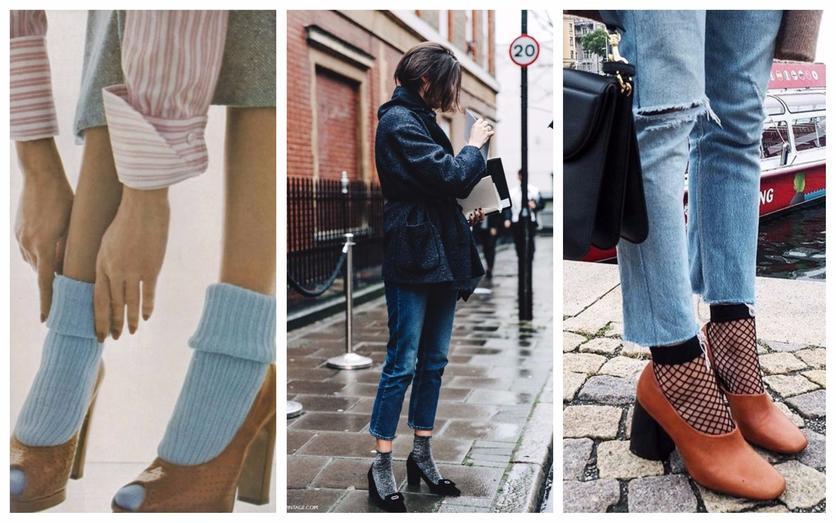 Formas de lucir tacones con calcetas y verte sofisticada 2