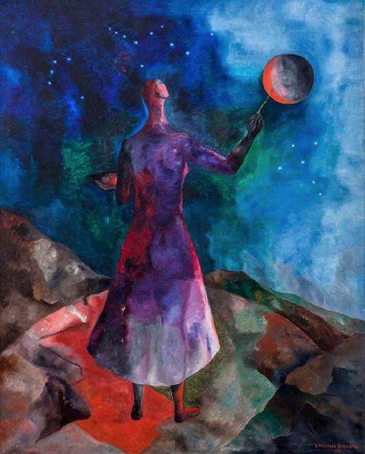 Las pinturas místicas de una artista mexicana olvidada por la historia 1
