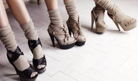 Formas de lucir tacones con calcetas y verte sofisticada 0