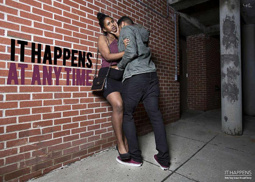 Fotografías que muestran la crudeza de las agresiones sexuales 5