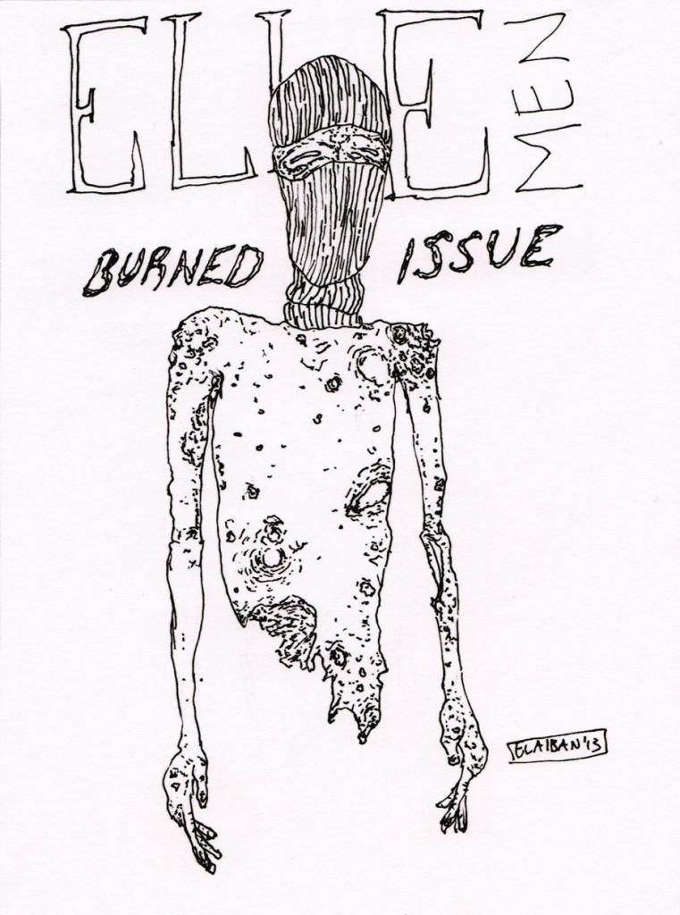 El Aiban - ELLE Men Burned Issue