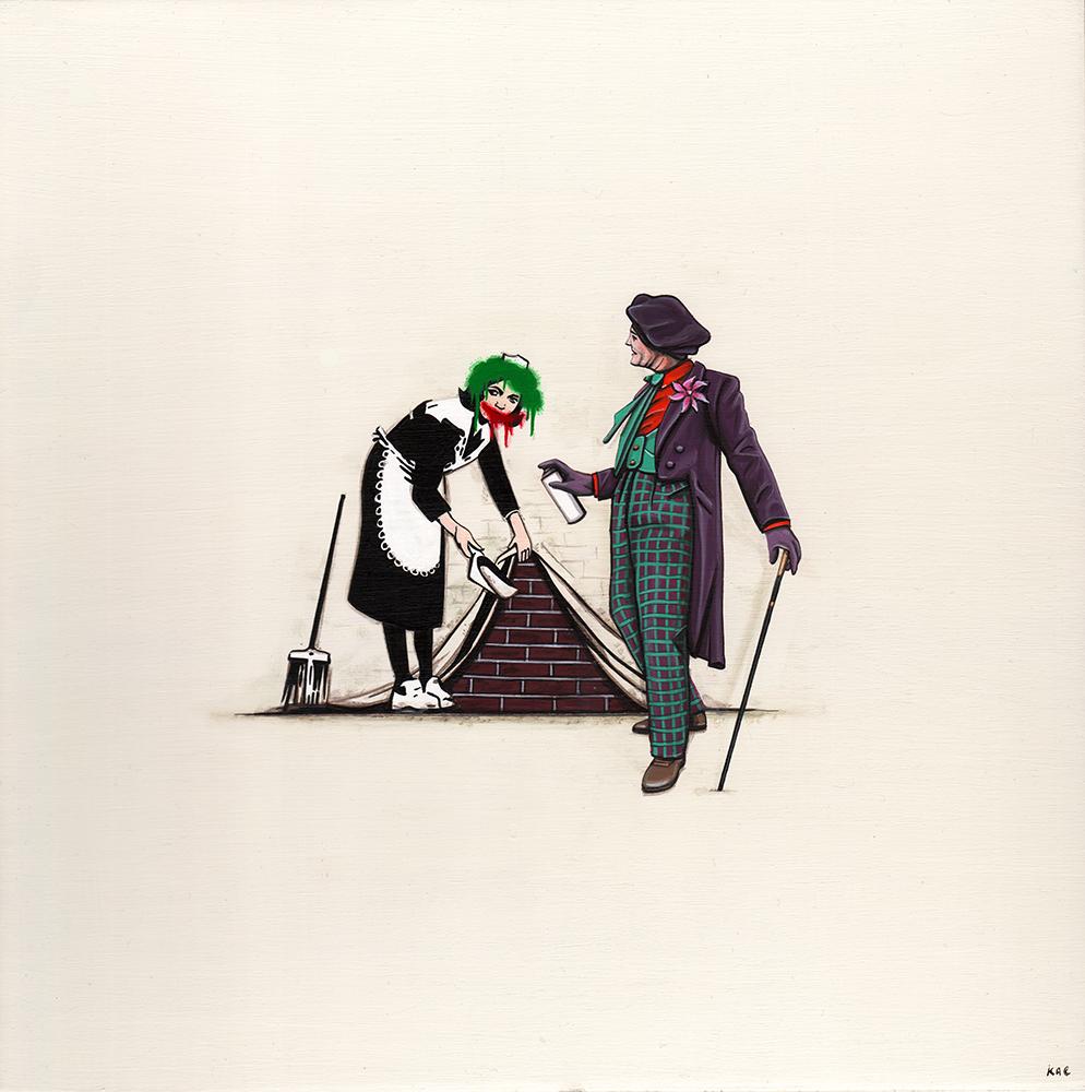 Joker vs. Banksy
