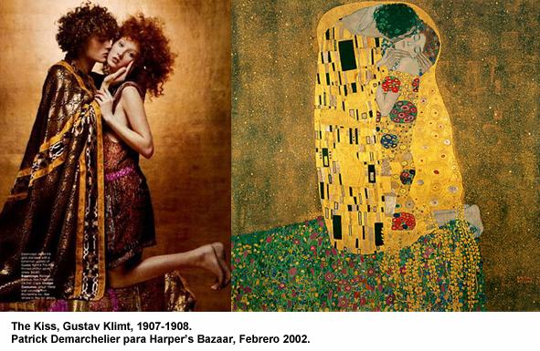 De la galer a a la revista editoriales de moda que emulan obras art sticas fotograf a - Pinturas de moda ...