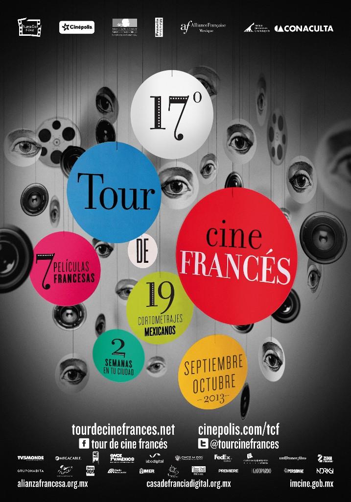 poster del 17 tour de cine francés