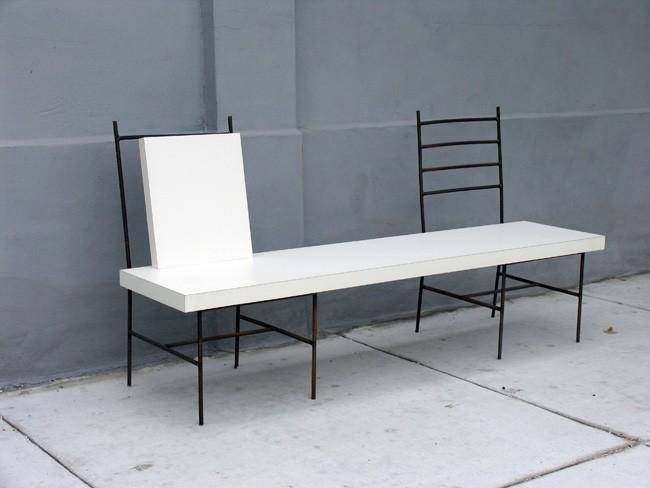silla tabl blanca