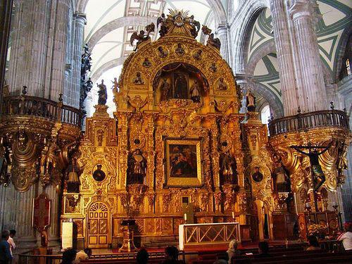 Catedral-Metropolitana-en-Mexico