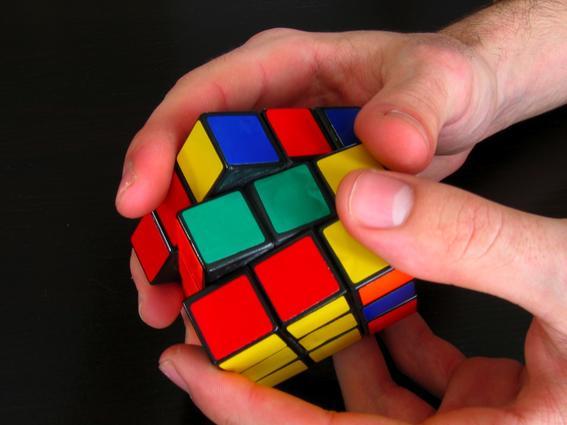 enigma del cubo rubik