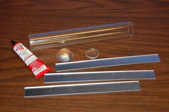 materiales para hacer un caleidoscopio