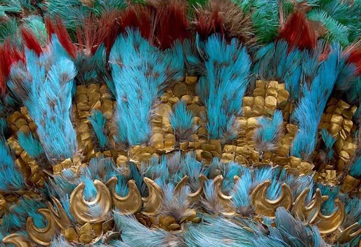 El penacho de Moctezuma II