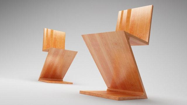 Top 10 sillas de dise o dise o for Silla zig zag medidas