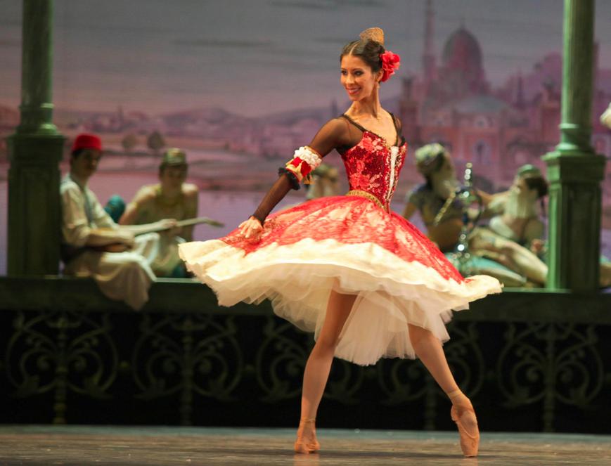 Elisa Carrillo bailarina