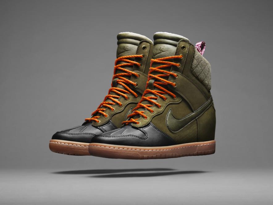 Pisa el frío con la nueva colección Nike Sneaker boots - Noticias