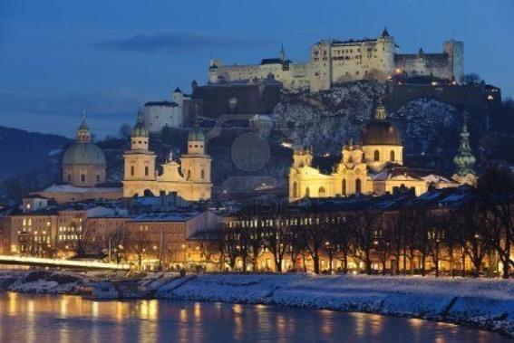 Salzburgo, Austria Ciudades más hermosas