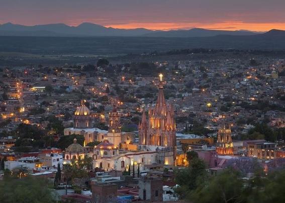 San Miguel de Allende, México Ciudades más hermosas