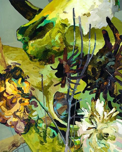 flores pinturas