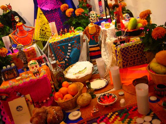 ofrenda mexicanas