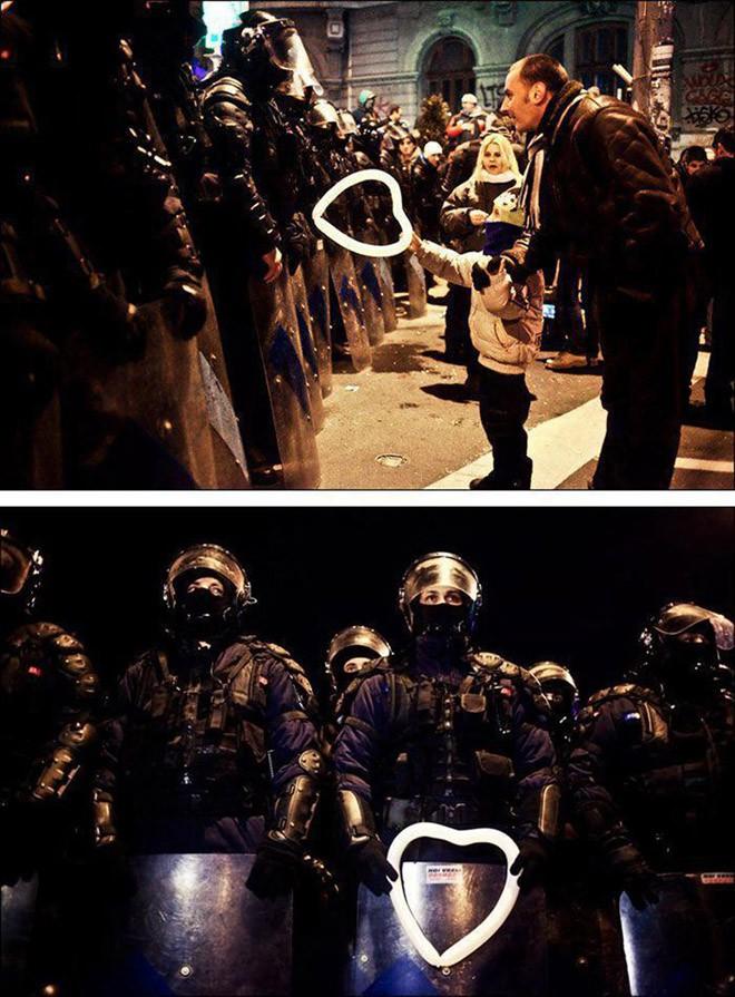 protestas en el mundo