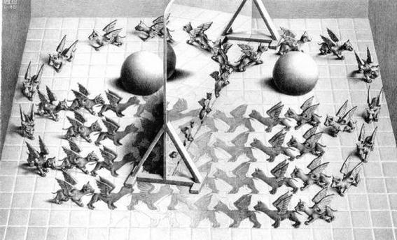 Cultura Escher Magic Mirror