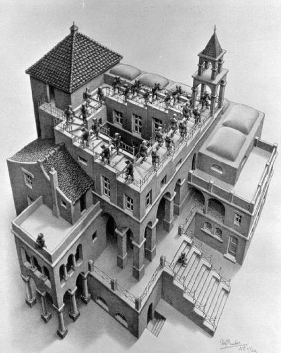 Cultura Escher ascending