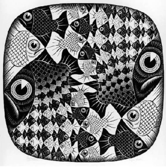 Cultura Escher circle limit II