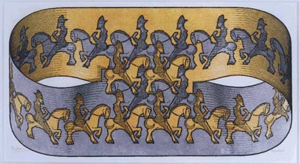 Cultura Escher horseman