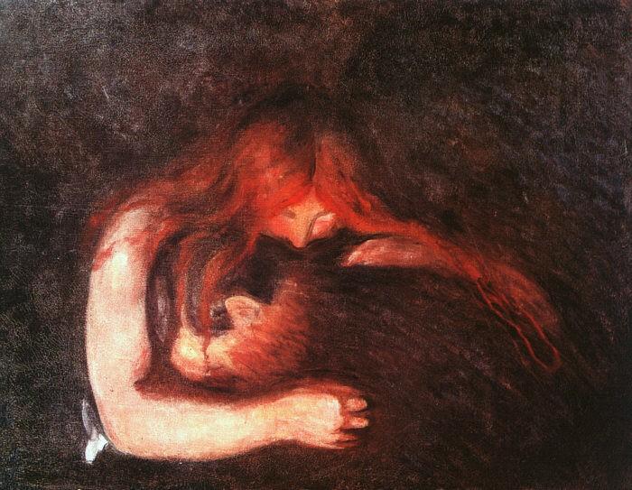 Edvard Munch: ángeles negros desde su cuna - Arte