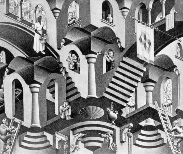 cultura Escher convex