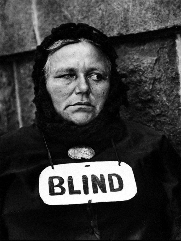 paul strand blind