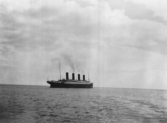 ultima foto del titanic