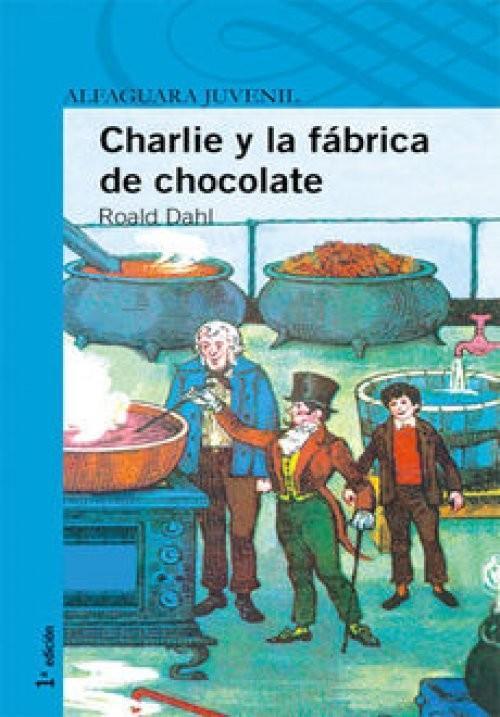 Charlie y la fábrica de chocolate, Roald Dahl