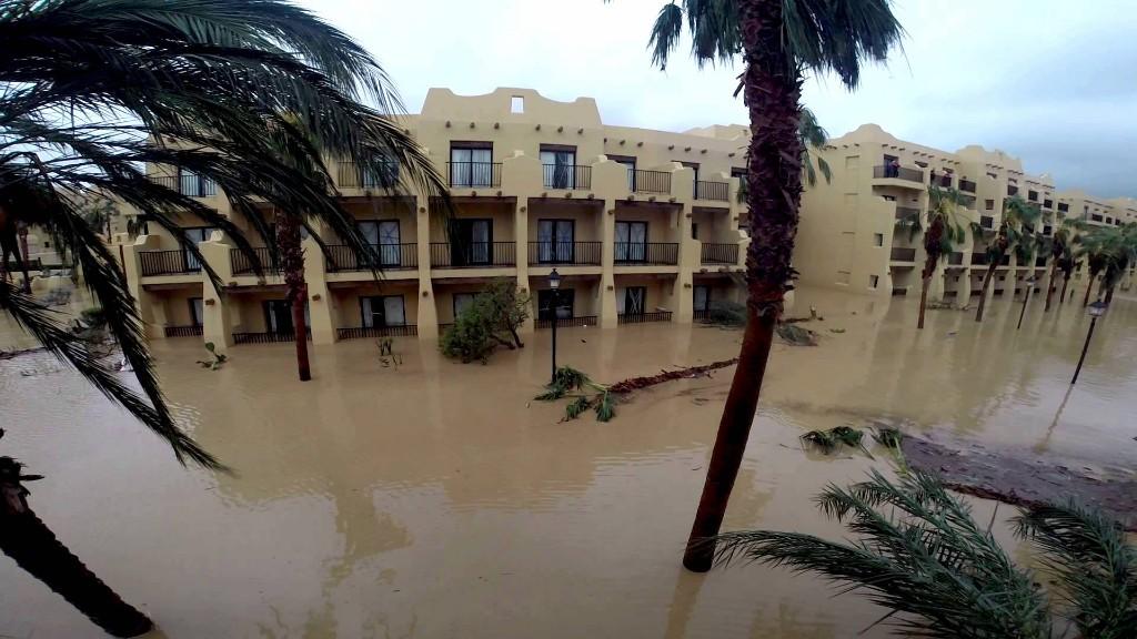Huracán Odile, Cabo San Lucas