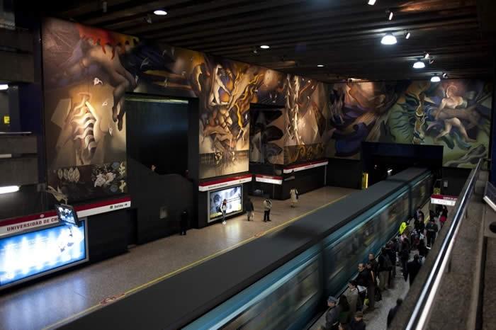 Universidad de Chile, Chile metro