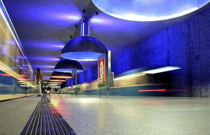 Westfriedhof Station, metro