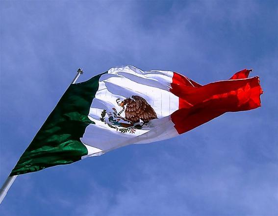 La historia y origen de la bandera de Mxico  Historia