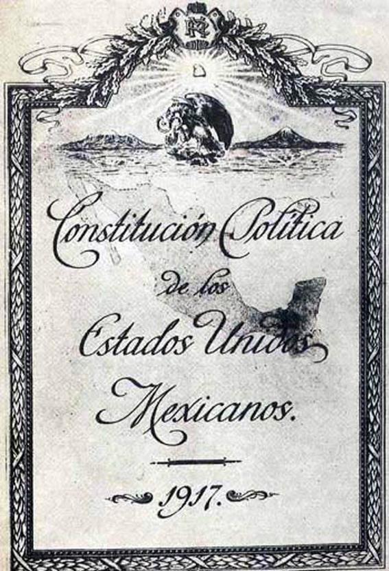 constitucion de 1917 1