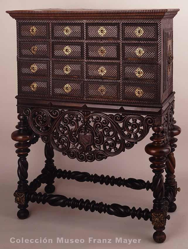 La colecci n de mobiliario del museo franz mayer dise o for Muebles asiaticos baratos