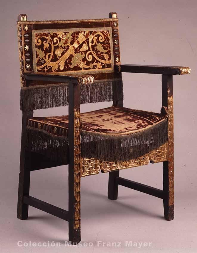 La colecci n de mobiliario del museo franz mayer dise o - Muebles el siglo ...