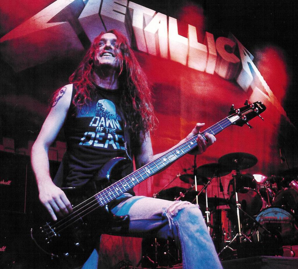 Metallica Cliff Burton