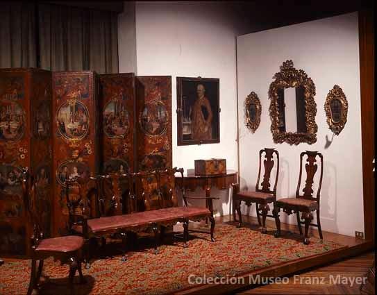 La colecci n de mobiliario del museo franz mayer dise o - Muebles siglo xxi ...
