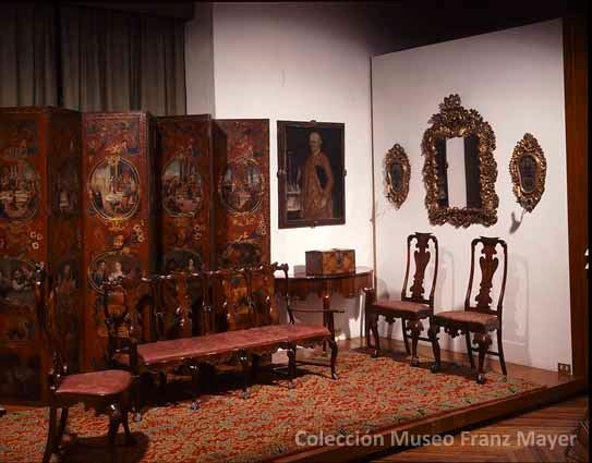 La colecci n de mobiliario del museo franz mayer dise o - Muebles siglo xviii ...