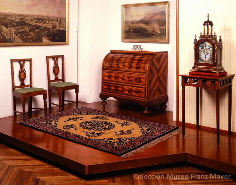 la coleccin de mobiliario del museo franz mayer