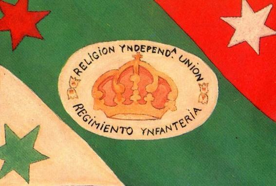 Las banderas de Mxico  Historia