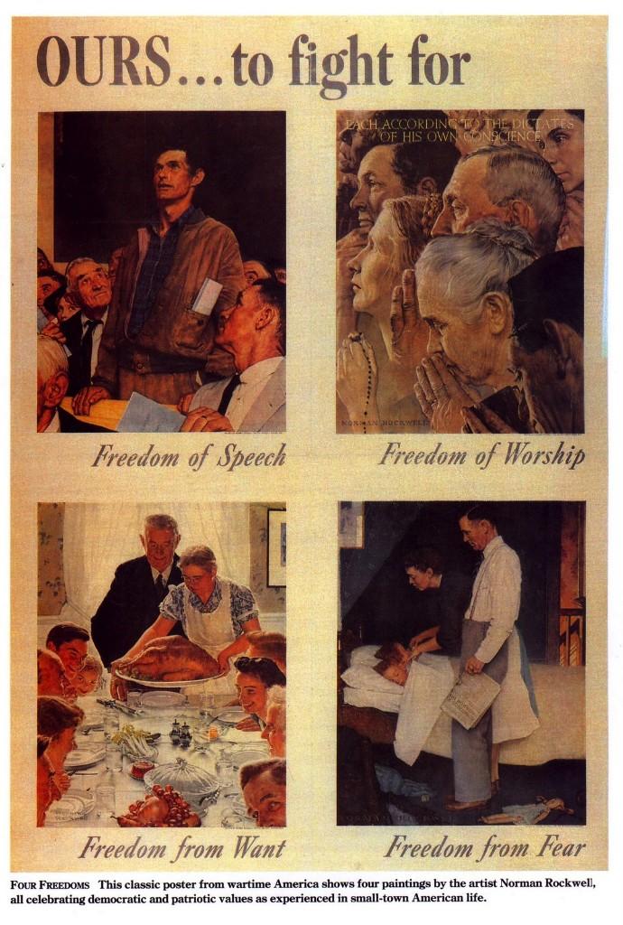 cuatro libertades rockwell