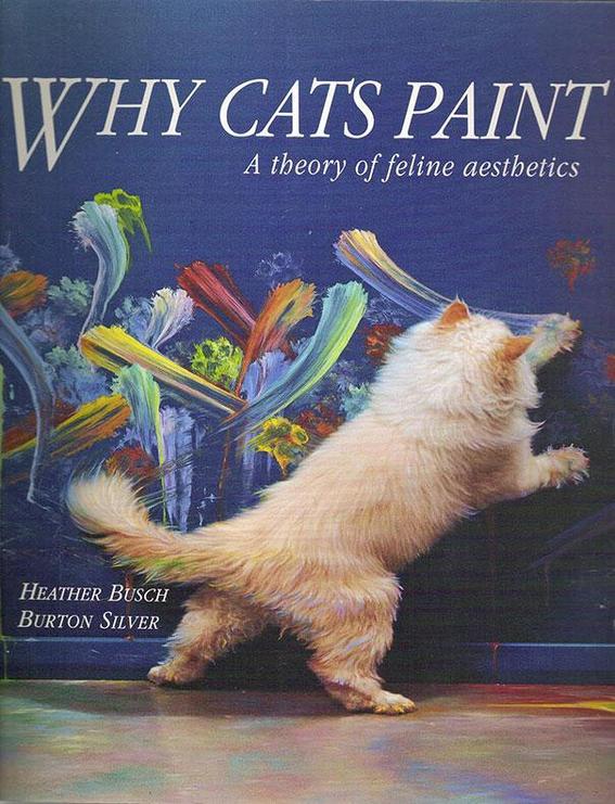 gatos pintan