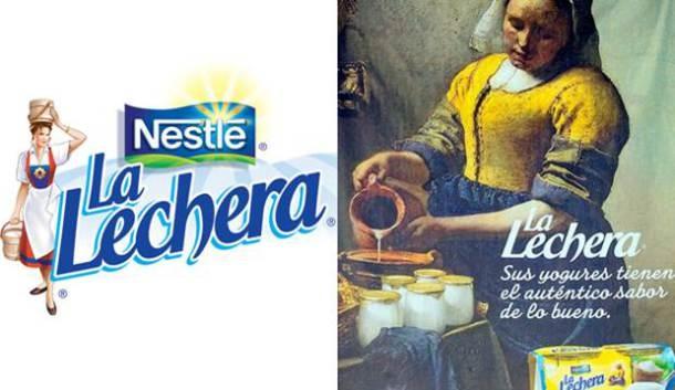 Publicidad inspirada en arte parte uno dise o - La lechera de vermeer ...