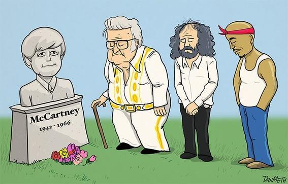 paul mccartney muerte