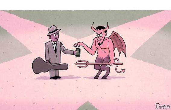 robert johnson pacto con el diablo